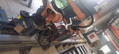 盖梁骨架焊接机器
